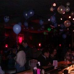 Photo taken at Bar Pink by taco n. on 12/5/2011