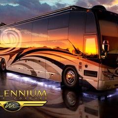 Photo taken at Millennium Luxury Coaches by Bob W. on 1/12/2012