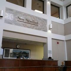 Photo taken at Sun-Sentinel by David M. on 6/20/2012