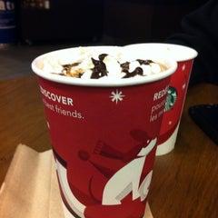 Photo taken at Starbucks by Alana V. on 11/12/2011