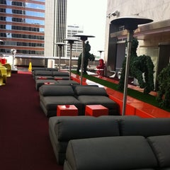 Photo taken at The Standard, Downtown LA by Monica O. on 11/21/2011