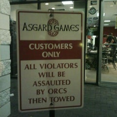 Photo taken at Asgard Games by Federico S. on 1/12/2012