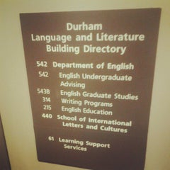 Photo taken at G. Homer Durham Language & Literature Building by Jarvis R. on 6/26/2012