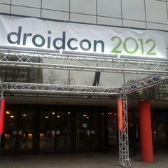 Photo taken at droidcon by Nicole S. on 3/14/2012