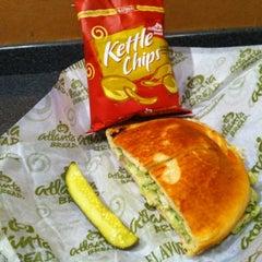 Photo taken at Atlanta Bread Company by Marvin O. on 3/10/2012