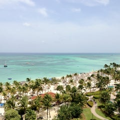 Photo taken at Marriott's Aruba Surf Club by Craig B. on 8/18/2012