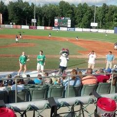 Photo taken at Dutchess Stadium by Nancy M. on 7/29/2012