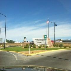 Photo taken at Billings Logan International Airport (BIL) by Chris K. on 6/18/2012