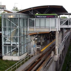 Photo taken at Commercial - Broadway SkyTrain Station by Marc C. on 4/5/2012