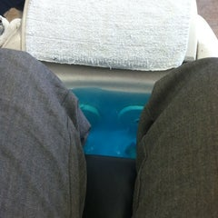 Photo taken at Love Nails by Christy C. on 6/22/2012