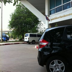 Photo taken at มหาวิทยาลัยมหาสารคาม (Mahasarakham University) by Mooii F. on 4/17/2012