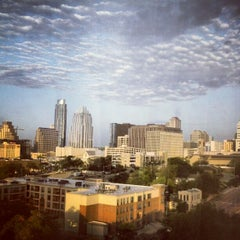 Photo taken at Sheraton Austin Hotel At The Capitol by Ammar I. on 8/27/2012
