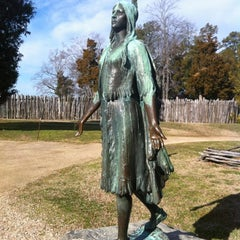 Photo taken at Historic Jamestowne by Eric T. on 2/22/2012