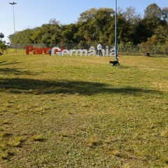Photo taken at Parque Germânia by Vanessa P. on 6/23/2012