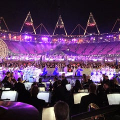 Photo taken at Olympic Stadium by London Symphony Orchestra on 7/30/2012