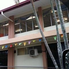 Photo taken at SMK Bandaraya (SMK Menggatal) by Melissa S. on 7/5/2012