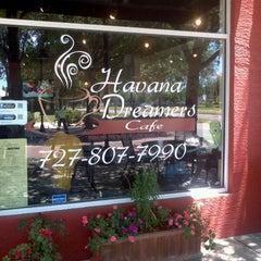 Photo taken at Havana Dreamer's Cafe by Eileen A. on 4/27/2012
