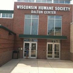 Photo taken at Wisconsin Humane Society by Matt P. on 7/7/2012