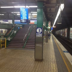Photo taken at Town Hall Station (Platform 3) by Kaine T. on 8/6/2012