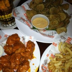 Photo taken at Hooters of Santa Monica by Alexander H. on 2/25/2012