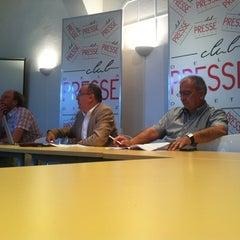 Photo taken at Club De La Presse Metz Lorraine by TOUT METZ .. on 5/11/2012
