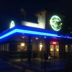 Photo taken at Wally's Burger Express by Kiosha B. on 4/13/2012