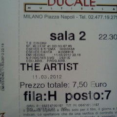 Photo taken at Cinema Ducale Multisala by Dario S. on 3/11/2012