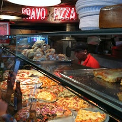 Photo taken at Bravo Pizza by Cory S. on 6/16/2012