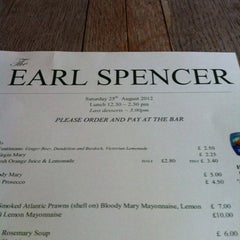 Photo taken at The Earl Spencer by Michael B. on 8/25/2012