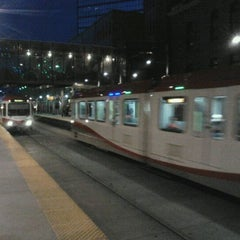 Photo taken at City Hall (C-Train) by Vipul J. on 4/1/2012