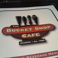 Photo taken at Bucket Shop Café by Ashley M. on 2/17/2012