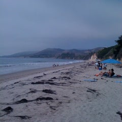 Photo taken at El Capitan State Beach by Gary B. on 8/13/2011