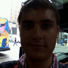 Photo taken at Mega Bus - 7th Ave & 27th St by Miodrag G. on 9/7/2011