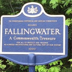 Photo taken at Fallingwater by Erin P. on 5/13/2012