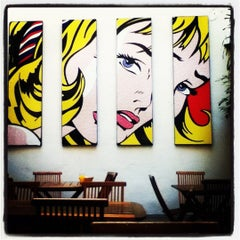 Photo taken at America del Sur Hostel by Julliana G. on 6/26/2012