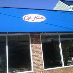 Photo taken at Cafe Nicole by SuffisDacated on 10/24/2011