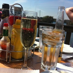 Photo taken at Matunuck Oyster Bar by Michael S. on 9/30/2011