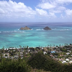 Photo taken at Lanikai Pillboxes Hike by Martin I. on 4/30/2012