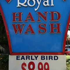 Photo taken at Royal Hand Wash by Paul G. on 8/18/2012