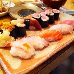 Photo taken at Sushi Tomi by Tom L. on 3/27/2011