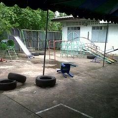 Photo taken at ชุมชนทรัพย์นุกูล หมู่ 4 by Magao D. on 6/12/2011