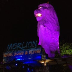 Photo taken at The Merlion (Sentosa) by Khalphan A. on 5/13/2012