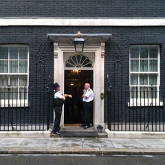Photo taken at 10 Downing St. by Jon S. on 8/25/2011