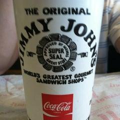 Photo taken at Jimmy John's by Benjamin on 7/19/2012