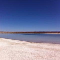 Photo taken at Laguna Cejar by Matias V. on 7/29/2011