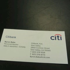 Photo taken at Citibank by Darrien L. on 11/18/2011