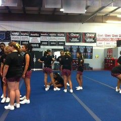 Photo taken at Tribe Cheer by Andrea W. on 6/13/2012