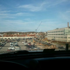 Photo taken at Perry Street Parking Garage by Greg on 2/23/2012