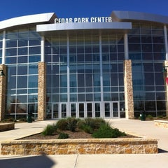 Photo taken at Cedar Park Center by Nathan L. on 3/12/2012