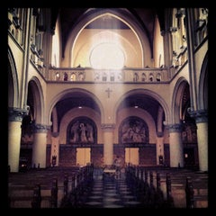 Photo taken at Gereja Katolik Katedral Jakarta by Agustinus Andy P. on 9/5/2012